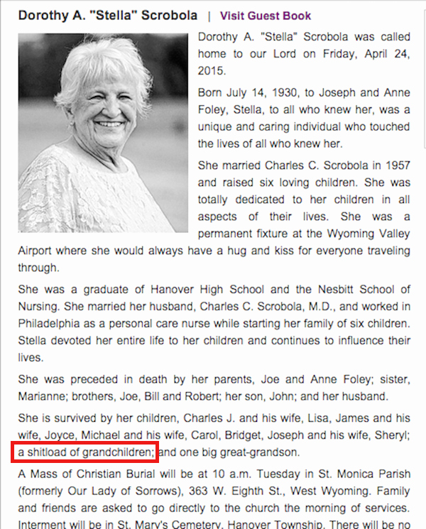 Obituary Sample for Mother Best Of 13 Charmingly Funny Obituaries that Absolutely Killed so that Happened