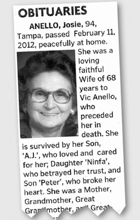 Obituary Sample for Mother Best Of Legacy Matters February 2012 Archives