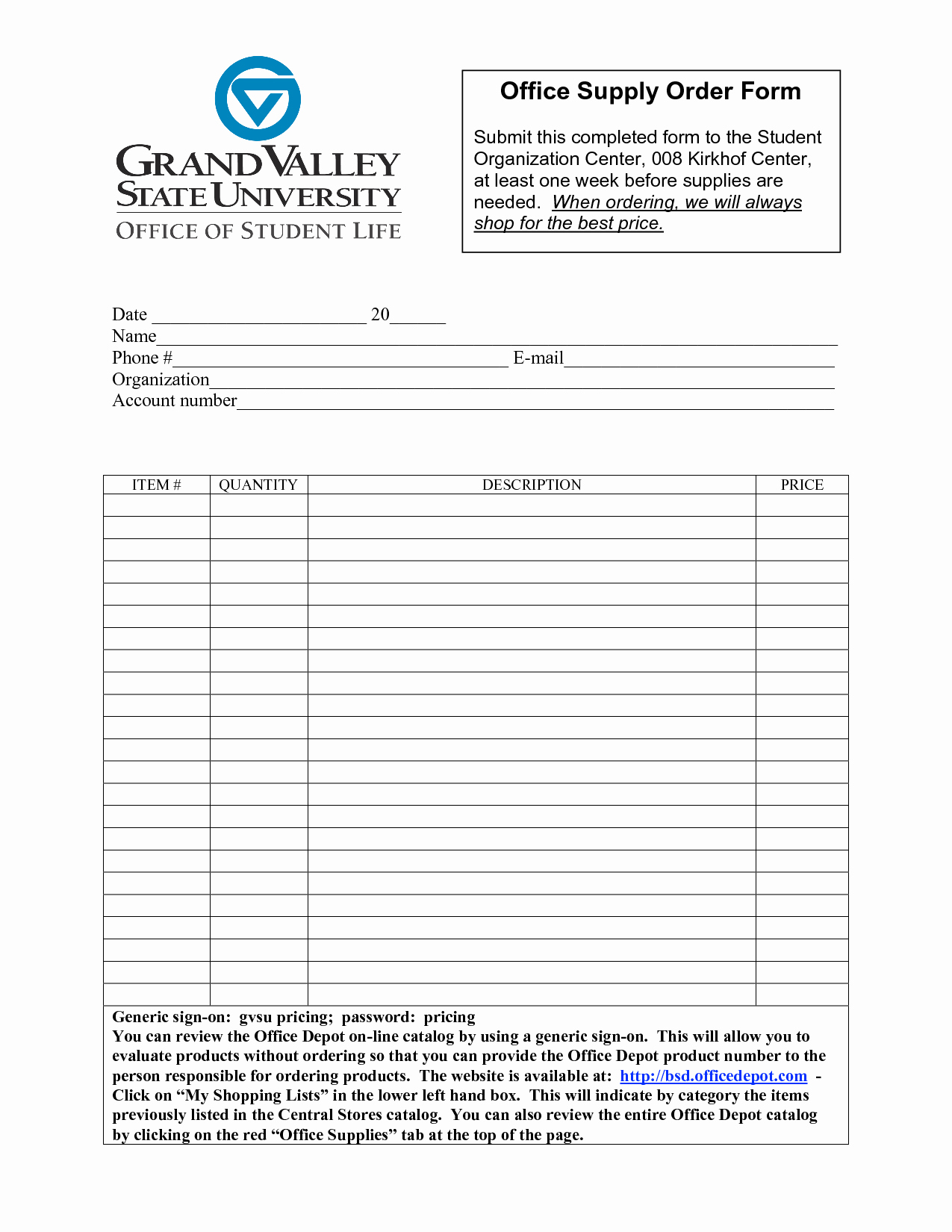 Office Supply order form Best Of Best S Of Fice Depot forms Templates Fice Supply order form Template Fice Supplies