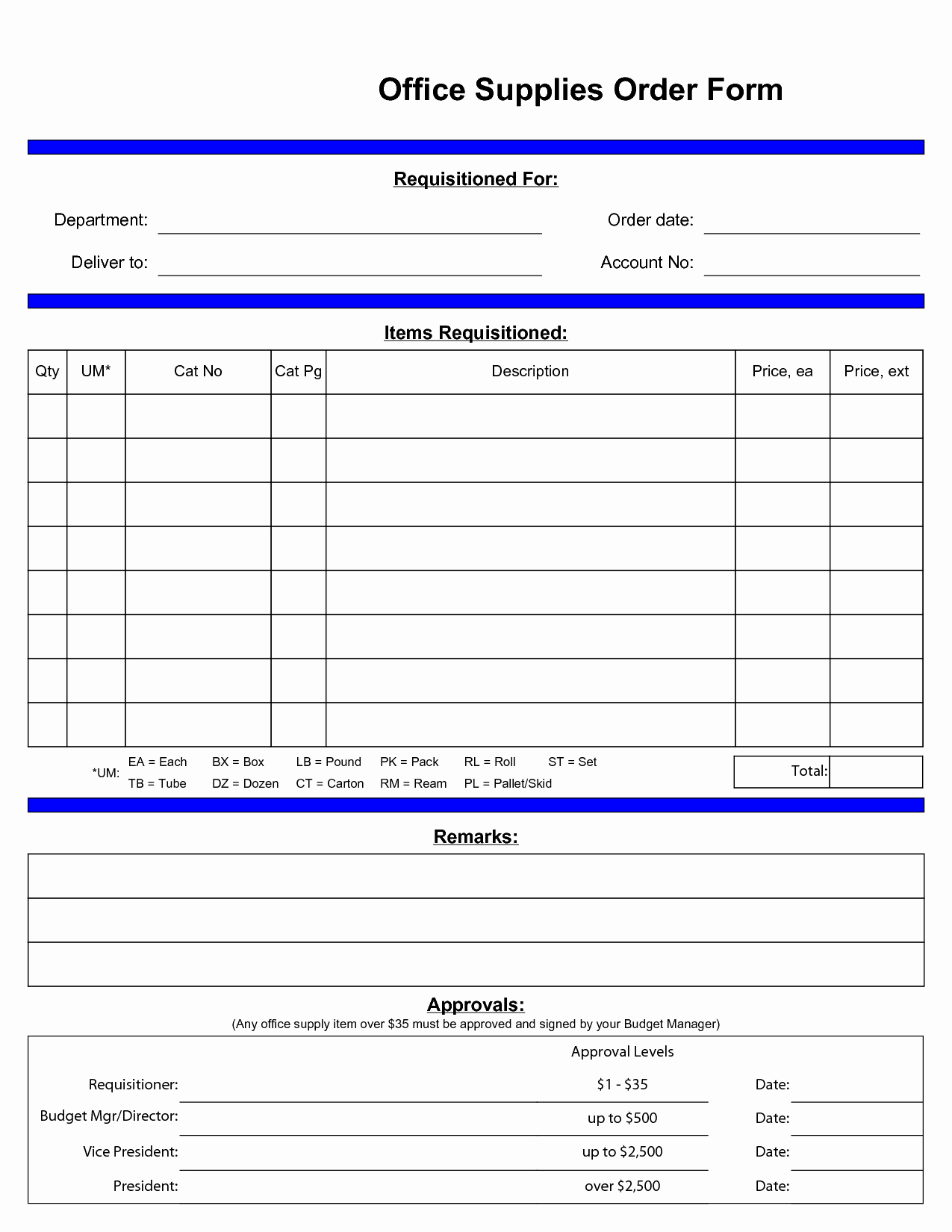 Office Supply order form Lovely Fice Supply order Techieblogiefo