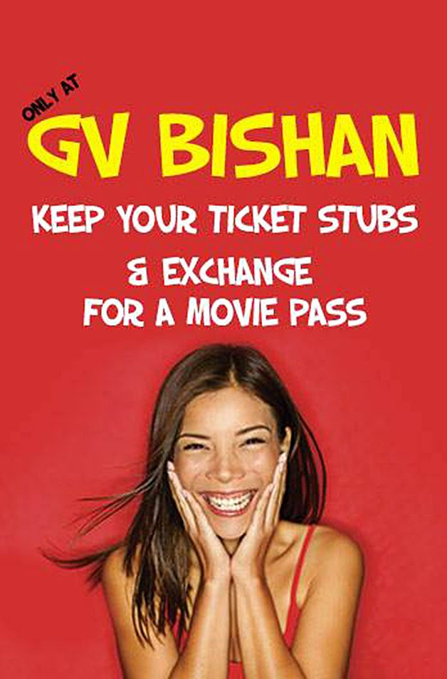 Old Fashioned Movie Ticket Inspirational Golden Village Bishan Free Movie Pass when You Bring Back Your Old Ticket Stubs