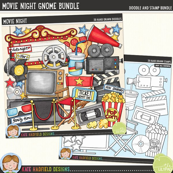 Old Fashioned Movie Ticket Lovely Movie Night Bundle