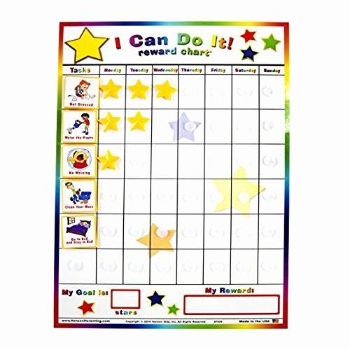 On Task Behavior Chart New Children S Chore Chart Amazon