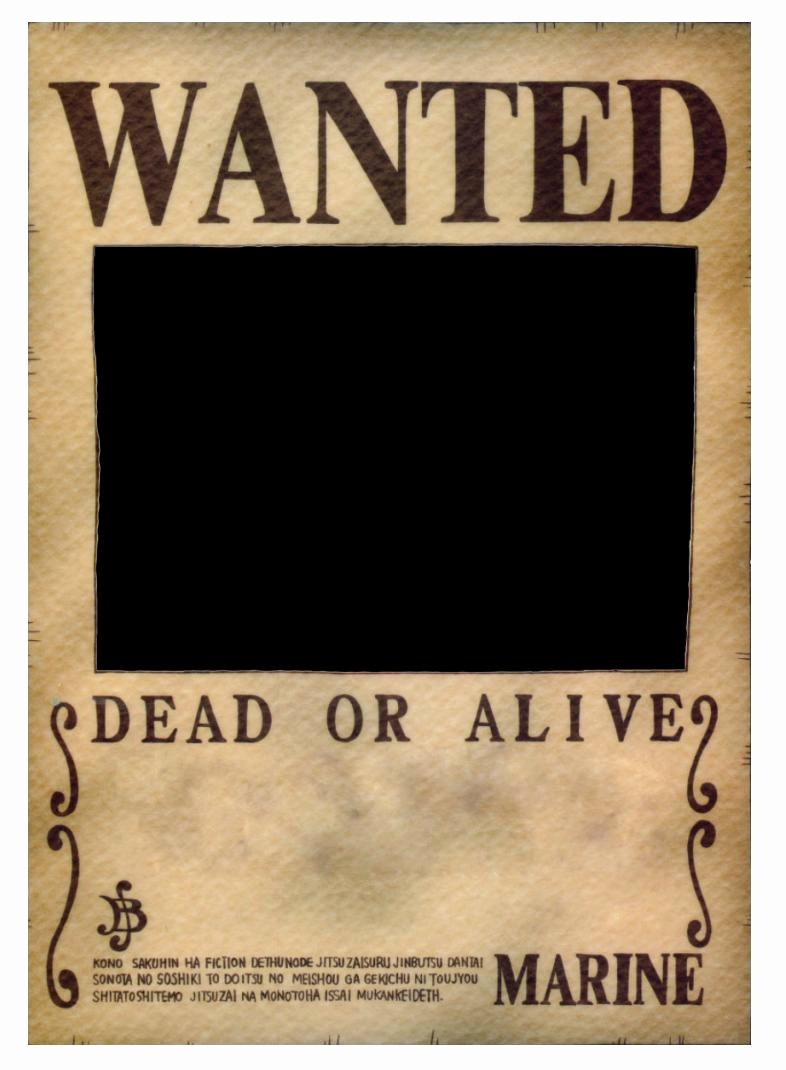 One Piece Wanted Poster Maker Awesome E Piece Wanted Poster Base by Nami14 On Deviantart
