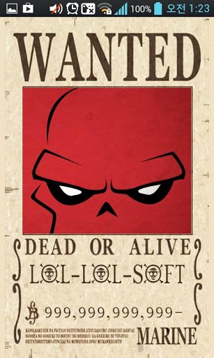 One Piece Wanted Poster Maker Awesome Epiece Wanted Poster Maker for android Free Download 9apps