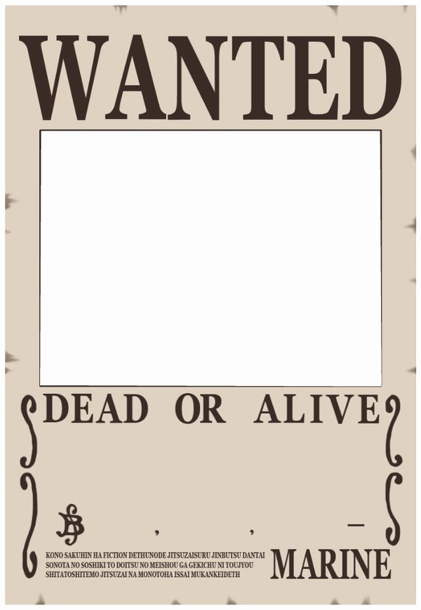 One Piece Wanted Poster Maker Awesome Montage Wanted One Piece Pixiz