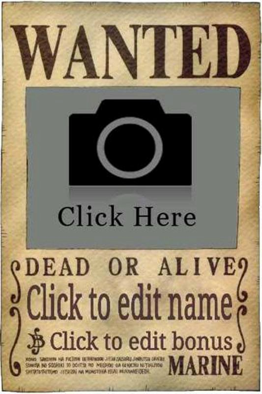 One Piece Wanted Poster Maker Best Of Wanted Poster Maker for android Apk Download