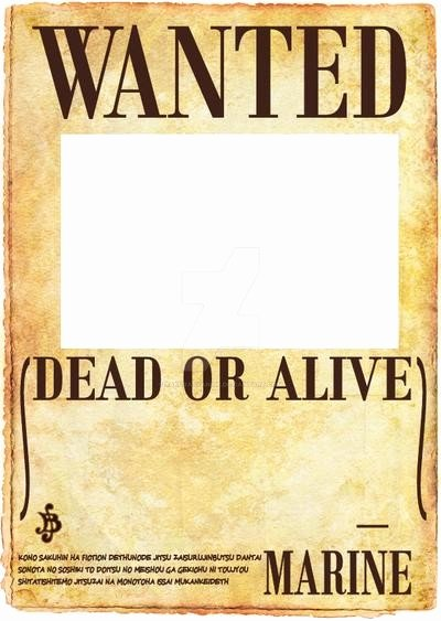 One Piece Wanted Poster Maker Luxury E Piece Wanted Poster by Sakurasyanide On Deviantart