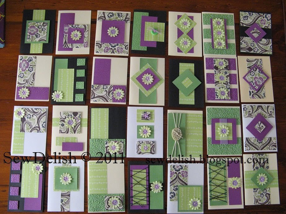 One Sheet Template Free New Sewdelish 28 Cards with 4 Sheets Of Paper and My Cricut