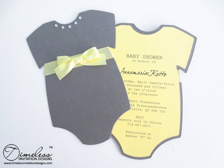 Onesie Baby Shower Invitations Template New Baby Esie Invitation Templates