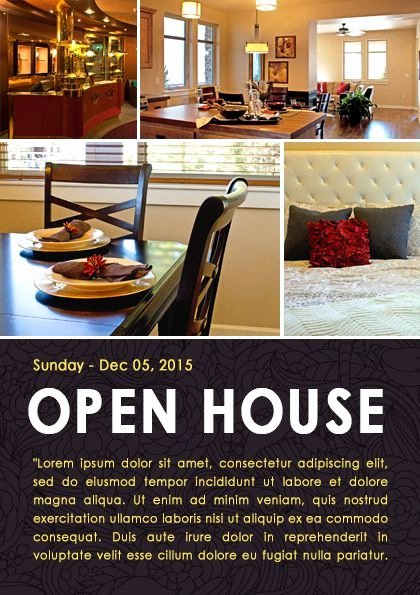 Open House Flyer Template Word Elegant 34 Best Images About Open House Flyer Ideas On Pinterest