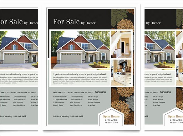 Open House Flyer Template Word New 36 Real Estate Flyer Templates Psd Ai Word Indesign