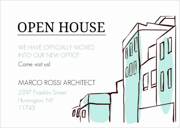 Open House Invitation Template Free Beautiful 17 Small Business Invitations Psd Eps