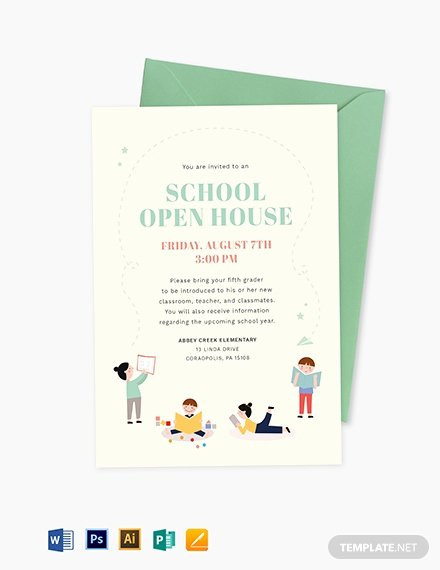 Open House Invitation Template Free Beautiful 19 Opening Invitation Templates Psd Ai