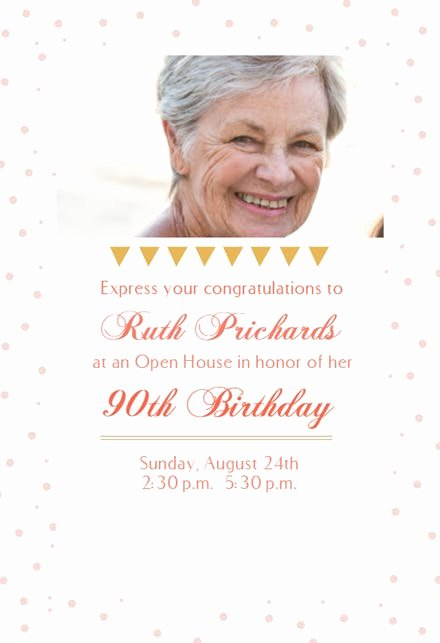 Open House Invitation Template Free Fresh 90 Open House Party Birthday Invitation Template Free