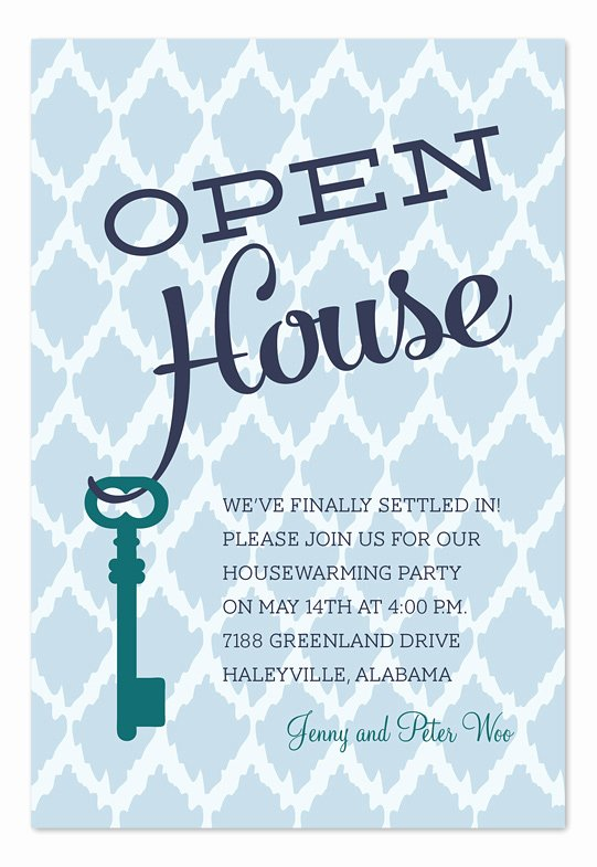 Open House Invitation Template Free Fresh Open House Key Party Invitations by Invitation Consultants Ic Rlp 1164