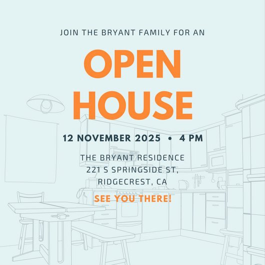 Open House Invitation Template Free New Open House Invitation Templates Canva