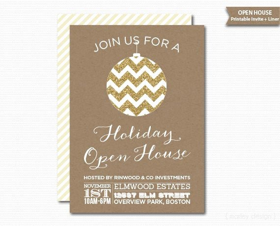 Open House Invitation Template Free New Pany Open House Invitation Printable Christmas Invitation