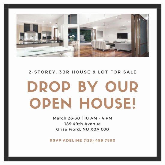 Open House Invitation Templates Free Elegant Customize 182 Open House Invitation Templates Online Canva