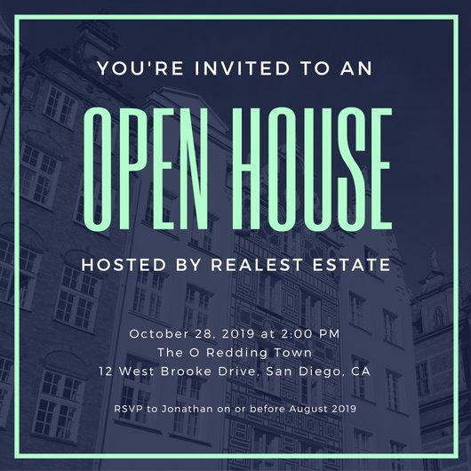 Open House Invitation Templates Free Unique Open House Invitation Templates Canva