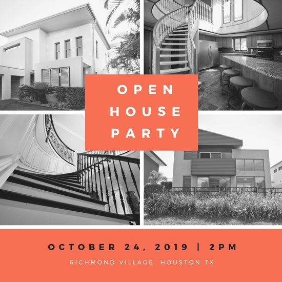 Open House Invitations Templates Best Of Customize 186 Open House Invitation Templates Online Canva