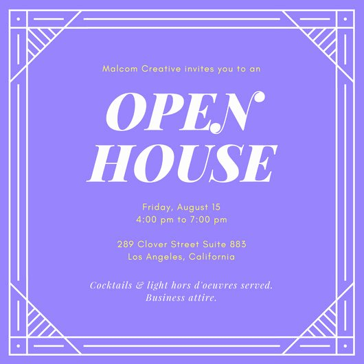 Open House Invitations Templates Best Of Open House Invitation Templates Canva