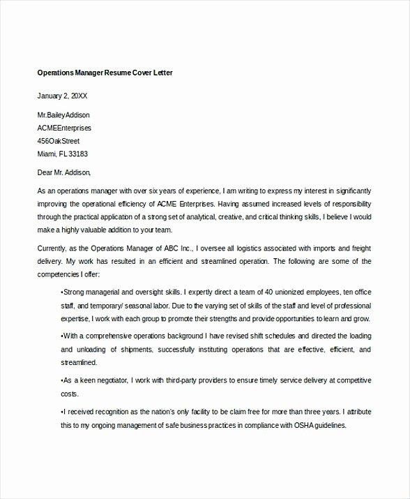 Operations Manager Resume Sample Pdf Elegant Bank Branch Manager Resume