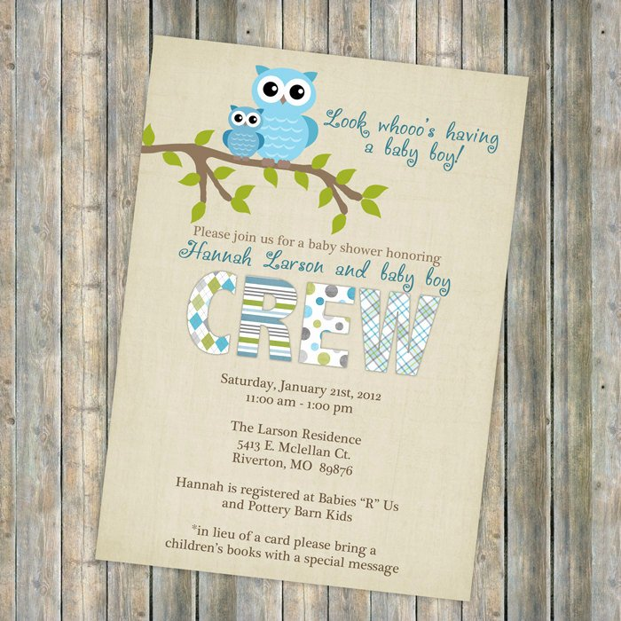 Owl Baby Shower Invitations Templates Lovely Owl Baby Shower Invitations Baby Shower Invitation with Owls
