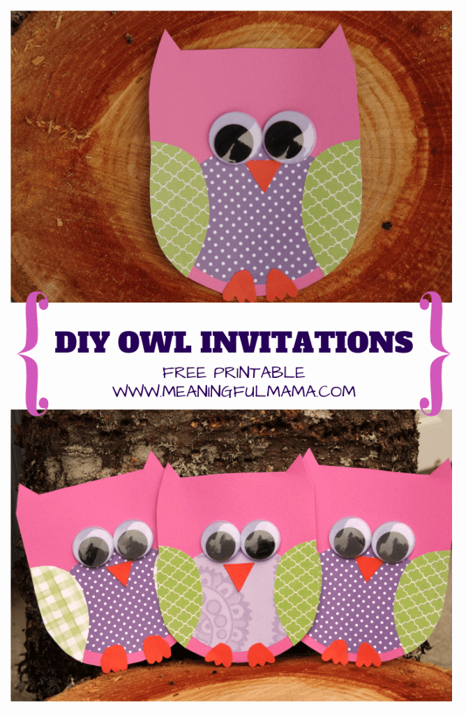 Owl Baby Shower Invitations Templates Lovely Owl Invitations Template for Free