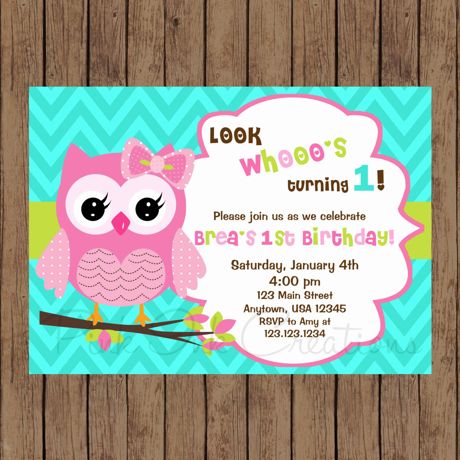 Owl Baby Shower Invitations Templates New Owl Birthday Invitation Owl Baby Shower Invitation