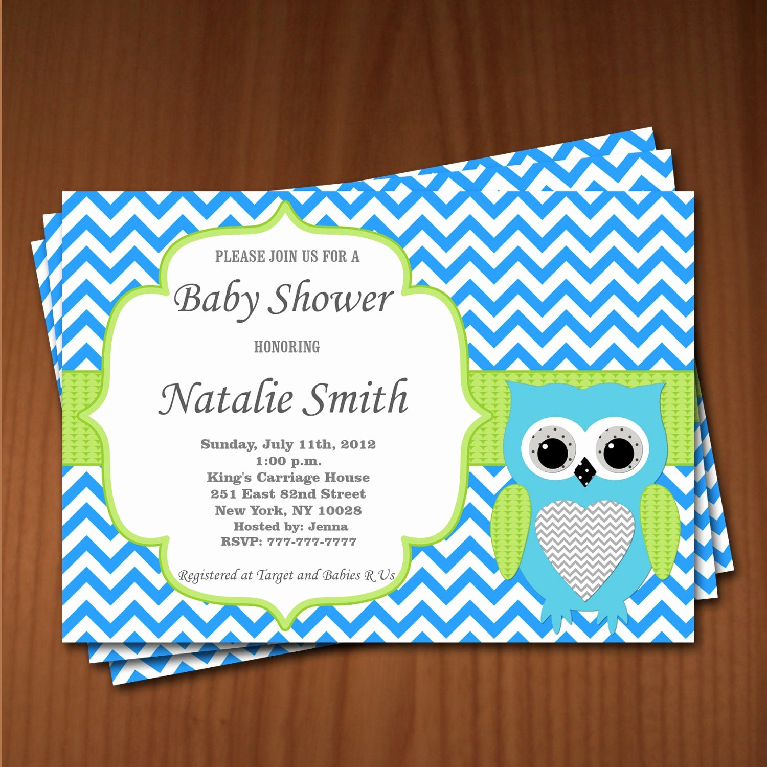 Owl Baby Shower Invitations Templates Unique Owl Baby Shower Invitation Boy Baby Shower Invitations