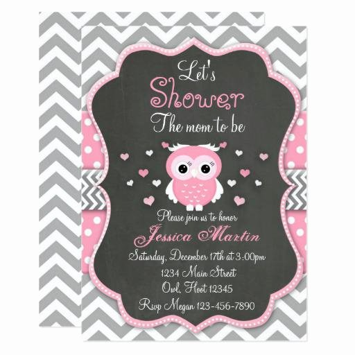 Owl Baby Shower Invitations Templates Unique Owl Baby Shower Invitations