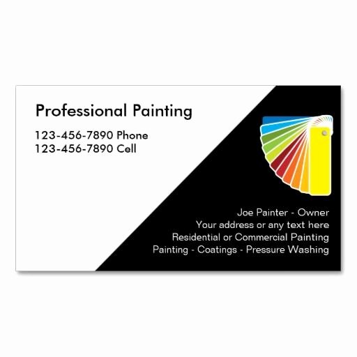 Painting Business Cards Ideas Best Of 199 Best Images About Painter Business Cards On Pinterest
