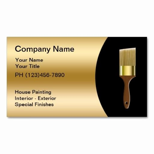 Painting Business Cards Ideas Elegant 198 Best Images About Painter Business Cards On Pinterest