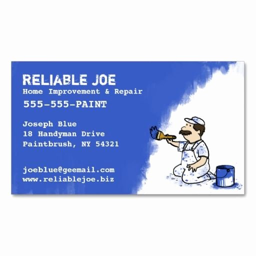 Painting Business Cards Ideas Elegant 201 Best Images About Painter Business Cards On Pinterest