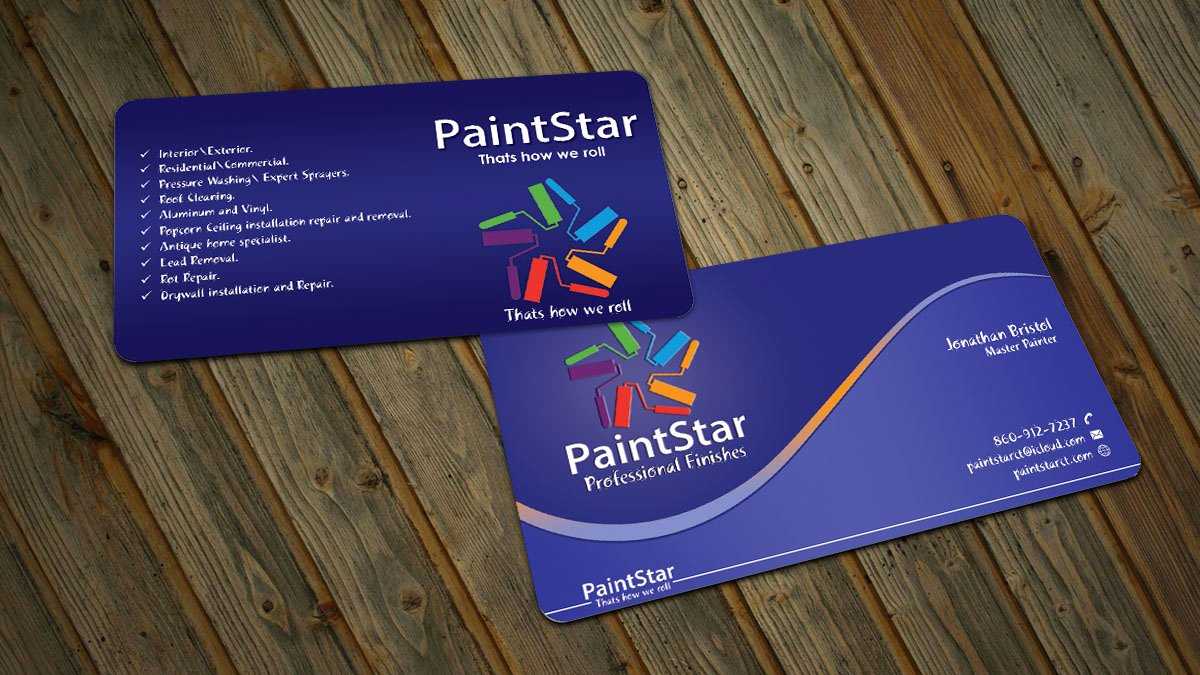 Painting Business Cards Ideas Unique 46 Creative Business Card Designs