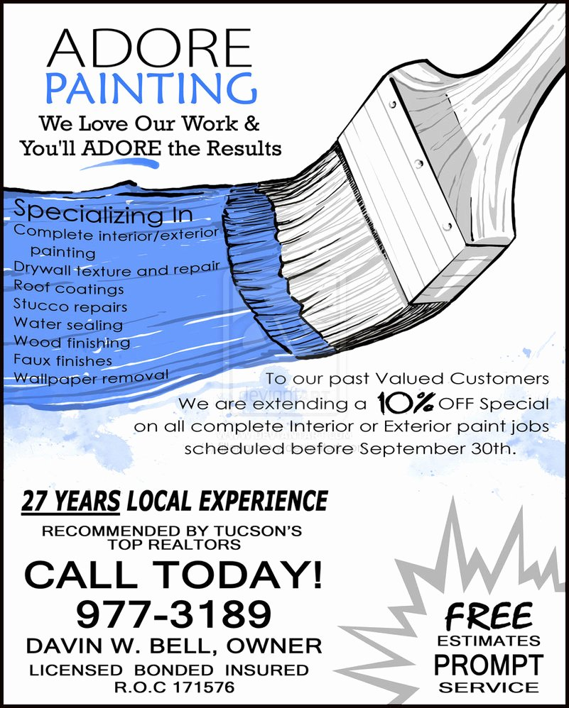 Painting Flyers Templates Free Lovely 1000 Images About Paint On Pinterest