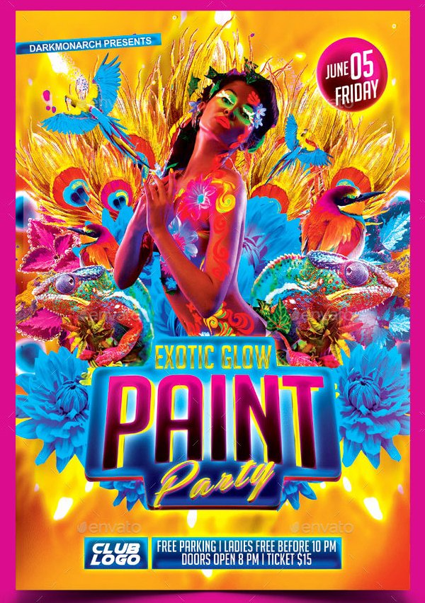 Painting Flyers Templates Free New 18 Painting Flyer Free & Premium Psd Vector Png Eps Ai