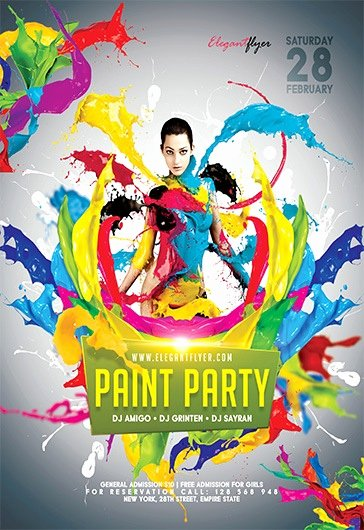 Painting Flyers Templates Free Unique Free Psd Flyer Templates for Shop by Elegantflyer