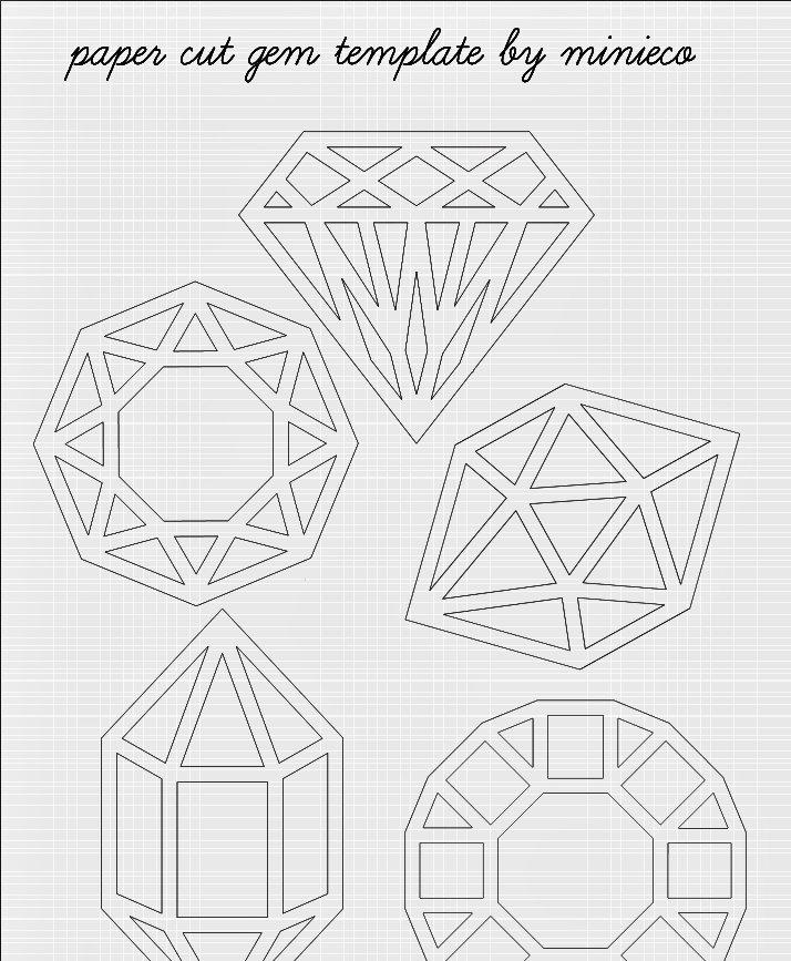 Paper Cut Outs Templates New Diy Cut Clarity Clockwork