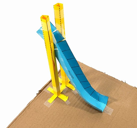 Paper Roller Coaster Blueprints Elegant Paper Roller Coasters Kinetic and Potential Energy