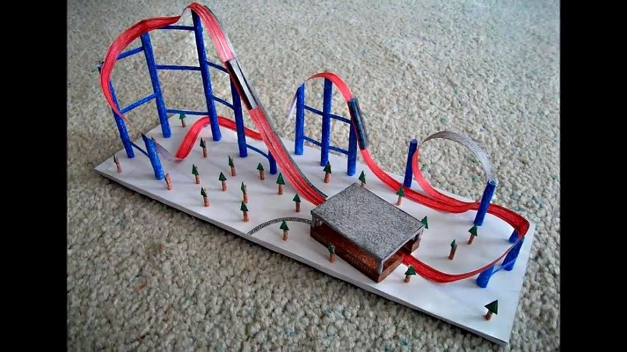 Paper Roller Coaster Blueprints Elegant Rollers Paper Roller Coaster