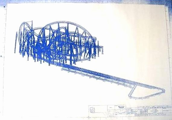 Paper Roller Coaster Blueprints Fresh Walt Disney World Rockin Roller Coaster Ride In by