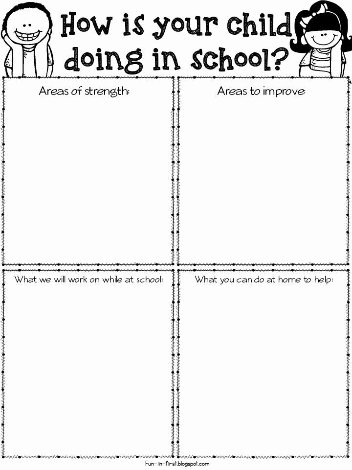Parent Teacher Conference form Pdf Luxury Parent Teacher Conference Time and Must Have Freebies Classroom Ideas