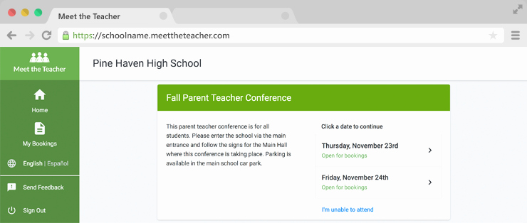 Parent Teacher Conference Request form Best Of Meet the Teacher Line Parent Teacher Conference
