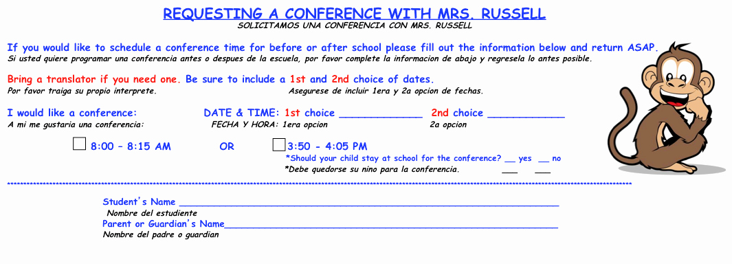 Parent Teacher Conference Request form Elegant 2 Happy Teachers Conference Request form for Parents