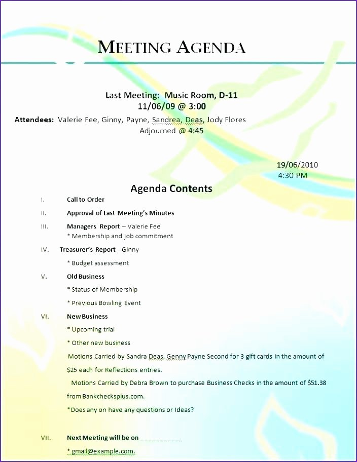 Parent Teacher Conference Schedule Template Elegant 11 12 Parent Meeting Agenda Template