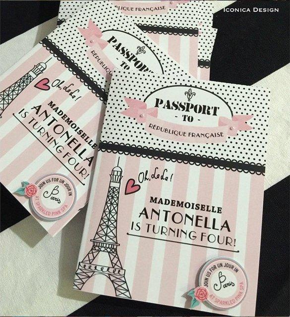 Paris Passport Invitation Template Elegant 17 Passport Invitation Templates Free Sample Example