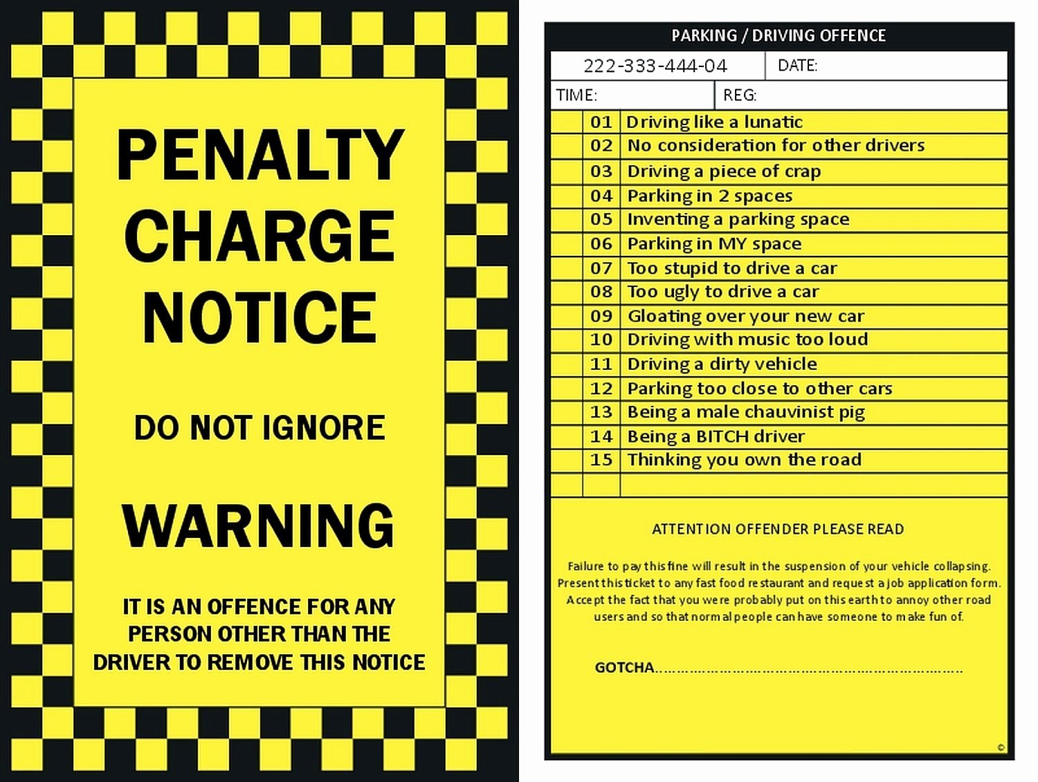 Parking Ticket Template Word Beautiful Fake Parking Ticket Printable Free Download the Best Home School Guide