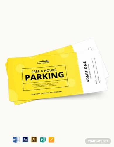 Parking Ticket Template Word Best Of 17 Parking Ticket Templates In Ai Word Pages Publisher Psd